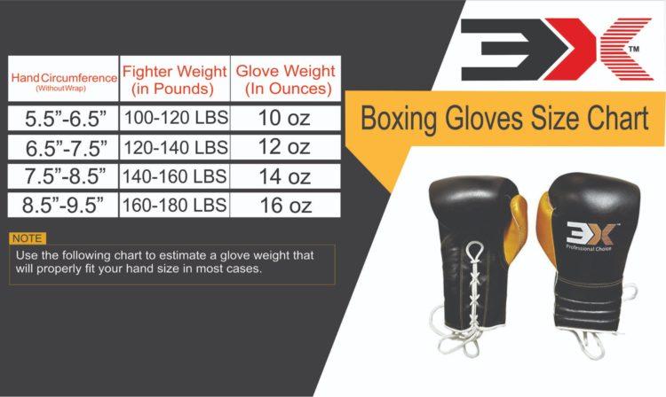 3X Sports Professional Choice BG-3X-PRO-02 Professional Boxing Gloves(BLACK)-1225