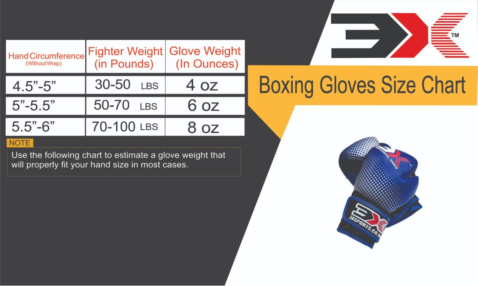 3x Sports Professional Choice KIDS X-1-06 Kids Boxing Gloves(BLUE,6oz)-1218