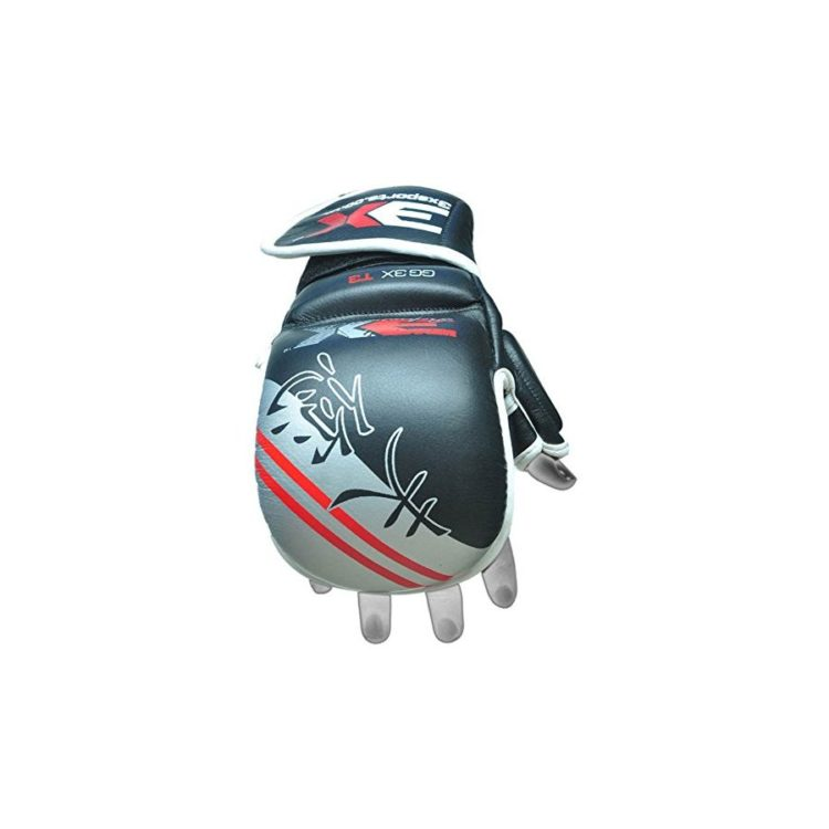 3X Sports Professional Choice GG-3X-03 Grappling Gloves(GREY)-1064