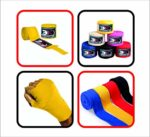 Hand Wraps Bandages Muay Thai Kick Boxing Inner Quick Hand Wraps Gloves MMA UFC Wrist Grips Bandages Gel Padded Hand Wraps Leather-277