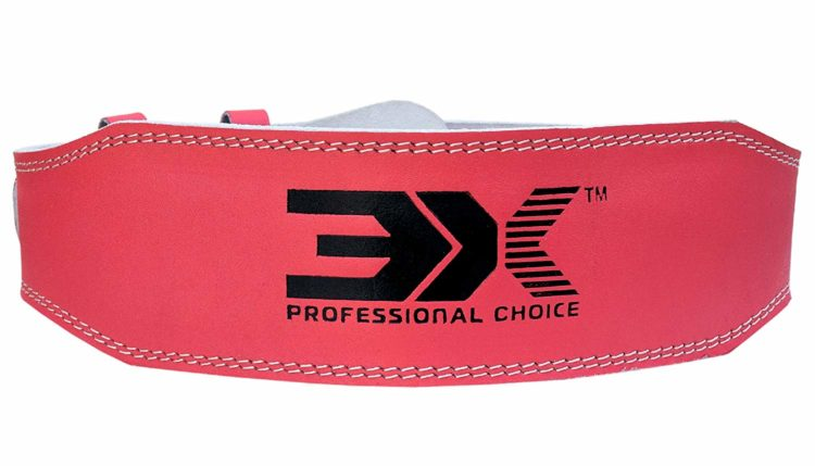 3X Sports Professional Choice WB-3X-01 Weightlifting Belt(PINK)-722