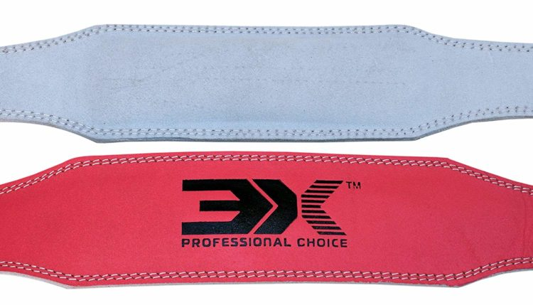 3X Sports Professional Choice WB-3X-01 Weightlifting Belt(PINK)-723