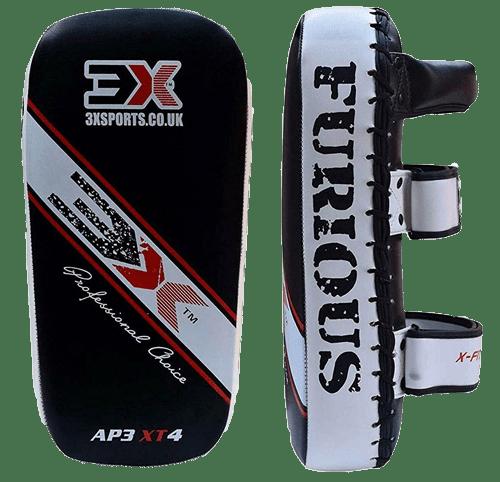 3X SPORTS Kick Pad Muay Thai Pad Taekwondo Kick Boxing Pad Arm Pads Martial Arts