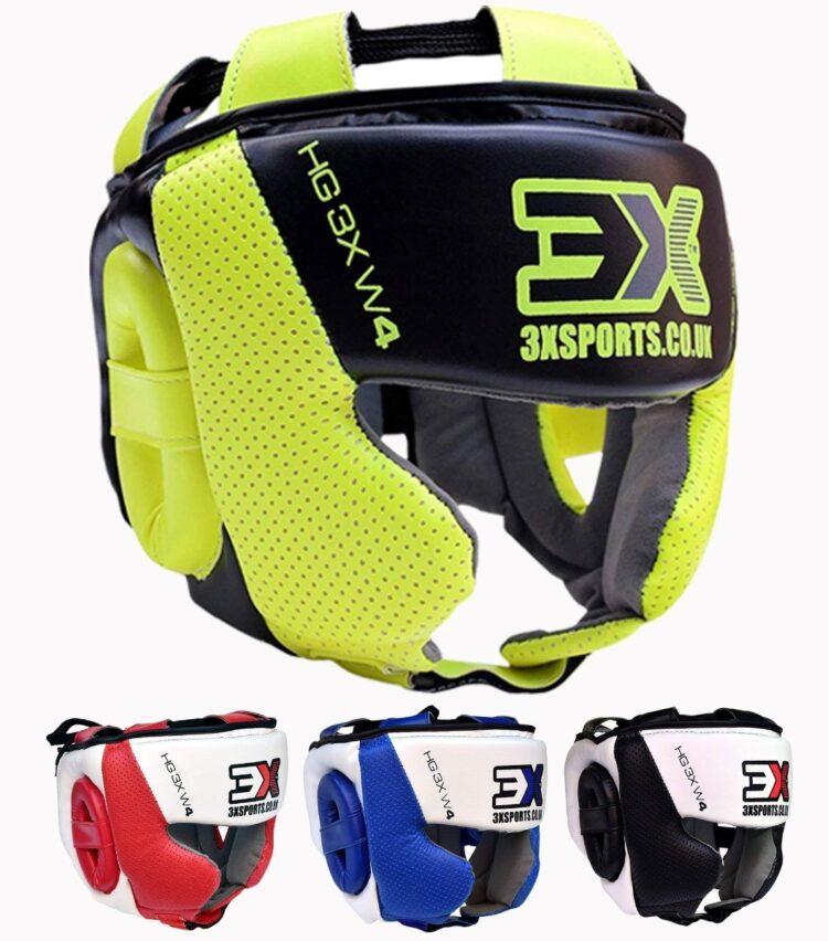 3X Sports Professional Choice HG-3X-06 Head Guard(FLUORESCENT)-0