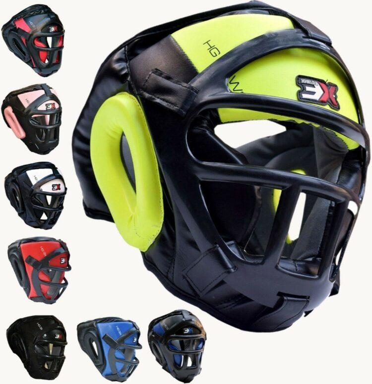 3X Sports Professional Choice HG-3X-13 Grill Head Guard(FLUORESCENT)-0