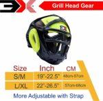 3X Sports Professional Choice HG-3X-13 Grill Head Guard(FLUORESCENT)-1413