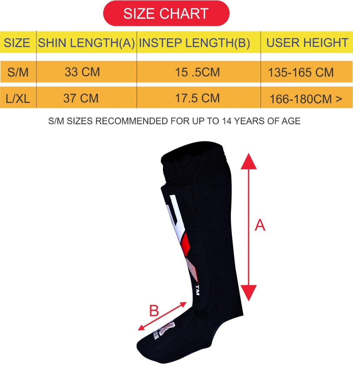 3X Sports Professional Choice SP-3X-02 Shin Instep Pad-1384
